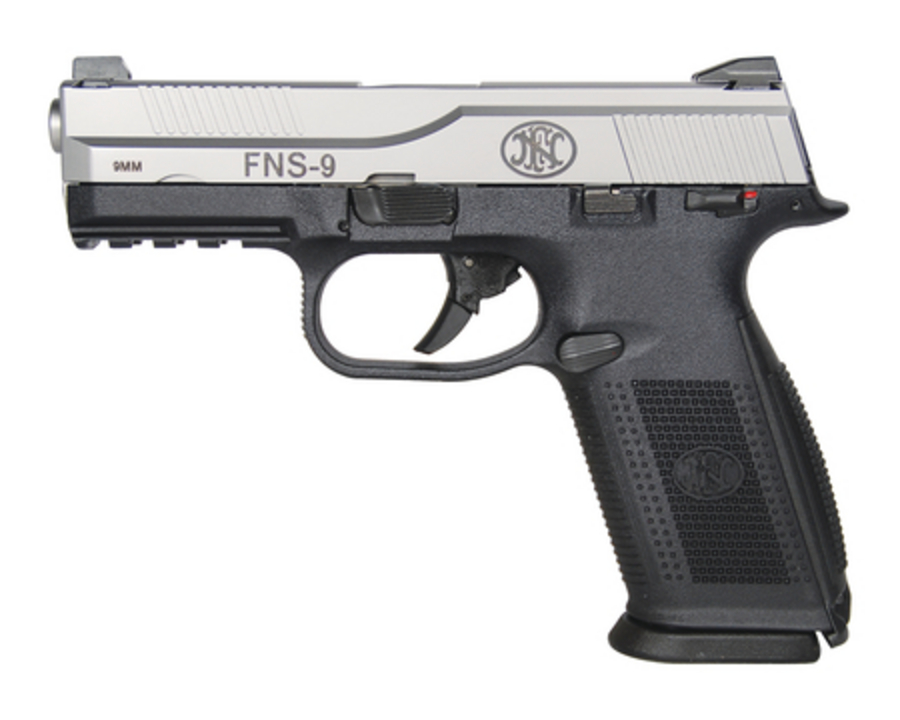 Fnh Fns 9 Silver Matte Black